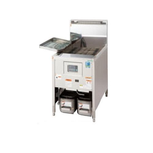 【業務用】【新品】 タニコー ガスフライヤー 低輻射熱式 DX ガスフライヤー TGFL-130DCW (旧型式:D-TGFL-C130W) 幅1300×奥行600×高さ800 (50/60Hz) 油量:30Lx2 【送料無料】【厨房機器】 /テンポス