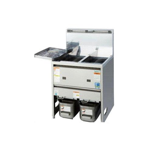 【業務用】【新品】 タニコー スタンダードガスフライヤー 低輻射熱式 NB TGFL-87CW (旧型式:NB-TGFL-C87W) W870×D600×H800 都市ガス/LPガス 油量:18Lx2 【送料無料】【プロ用】【厨房機器】