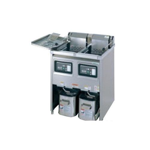 【業務用】【新品】 タニコー 電気フライヤー TEFL-87WN 幅870×奥行600×高さ800 (50/60Hz) 油量:18L×2 【送料無料】