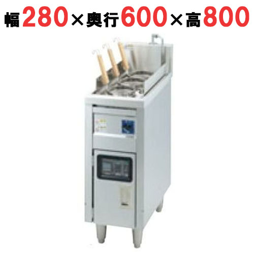 【業務用】【新品】 タニコー 電気ゆで麺器 TEU-28D 幅280×奥行600×高さ800 (50/60Hz) 【送料無料】