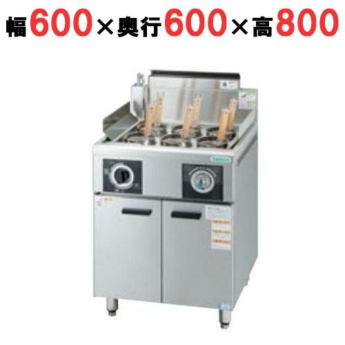 【業務用】【新品】 タニコー 冷凍ゆで麺器 ハイパワー解凍ゆで麺器(冷凍麺対応) THU-60 幅600×奥行600×高さ800 都市ガス/LPガス 【送料無料】