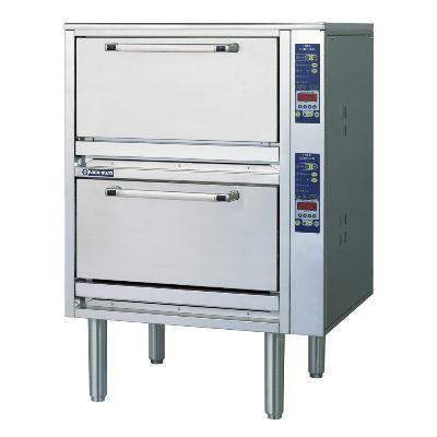 【業務用】電気立体炊飯器 2段タイプ 3から6kg×2段【ERC-18N2】【ニチワ電気】幅750×奥行730×高さ1092【プロ用】
