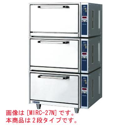 【業務用】電磁立体炊飯器 2段タイプ 3から6kg×2段【MIRC-18N】【ニチワ電気】幅770×奥行650×高さ1082【プロ用】 /テンポス