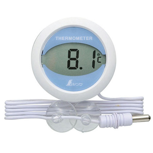 冷蔵庫用温度計 デジタルT 丸型 NEW売り切れる前に☆ シンワ測定 業務用 新品 テンポス 期間限定で特別価格 72980