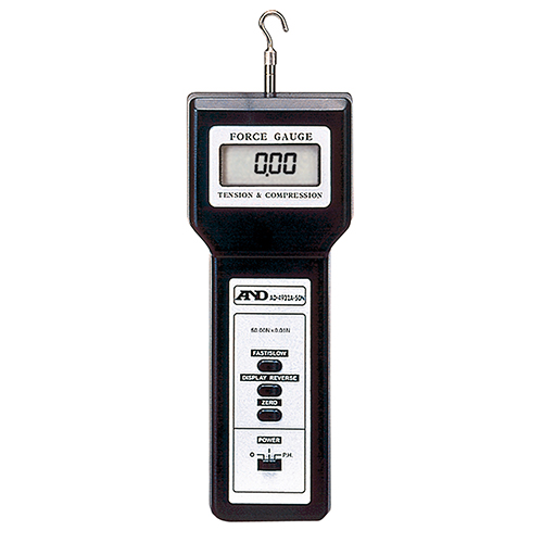 引張力・圧縮力・剥離力測定器 フォースゲージ AD-4932A-50N A&D【業務用/新品】【送料無料】【プロ用】 /テンポス