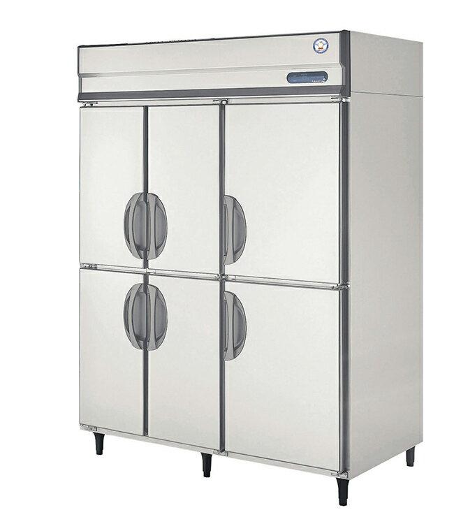 フクシマガリレイ 縦型冷凍庫 ARN-1566FMD 幅1490×奥行650×高さ1950 【送料無料】【業務用/新品】【プロ用】【厨房機器】 /テンポス