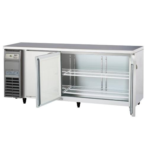 フクシマガリレイ 冷蔵コールドテーブル AYW-180RM-F 幅1800×奥行750×高さ800 【送料無料】【業務用/新品】【プロ用】【厨房機器】 /テンポス
