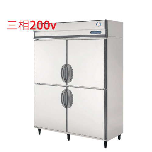 福島工業 縦型冷蔵庫 URD-150RMD6 幅1490×奥行800×高さ1950 【送料無料】【業務用/新品】【プロ用】