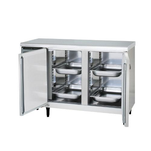 冷蔵コールドテーブル ホテルパン用横型冷蔵庫 YRN-120RMPA 幅1200×奥行660×高さ800 【送料無料】【業務用】【新品】