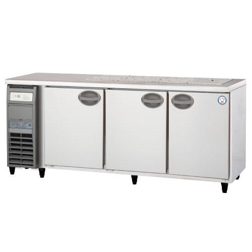 業務用サンドイッチ冷蔵コールドテーブル YSC-180RE2-B 幅1800×奥行600×高さ810/フクシマガリレイ/送料無料 /テンポス