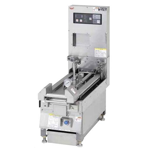 【業務用/新品】【マルゼン】 圧力式電気自動餃子焼器 MAZE-PR4 幅300×奥行700×高さ300mm 【送料無料】