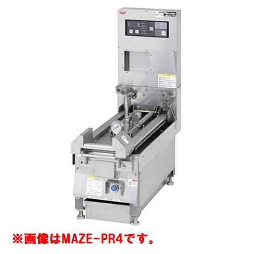 【業務用/新品】【マルゼン】 圧力式電気自動餃子焼器 MAZE-PR6 幅370×奥行700×高さ300mm 【送料無料】