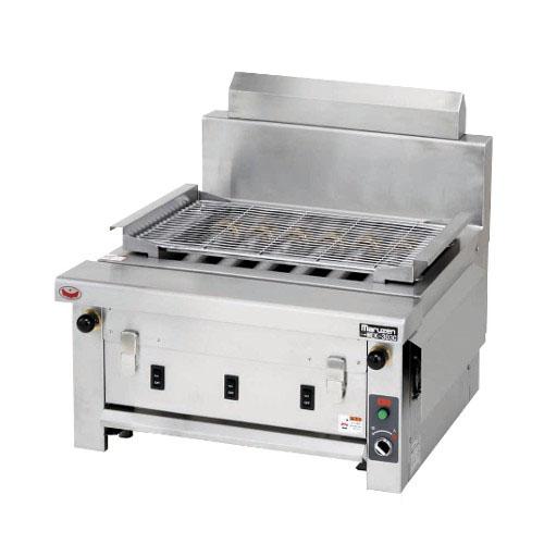 【業務用/新品】マルゼン 電気下火式焼物器 MEK-306C 幅650×奥行600×高さ320(mm)【送料無料】