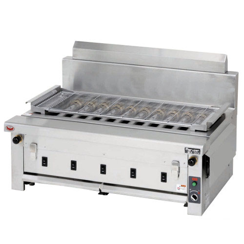 【業務用/新品】マルゼン 電気下火式焼物器 MEK-310C 幅910×奥行600×高さ320(mm)【送料無料】
