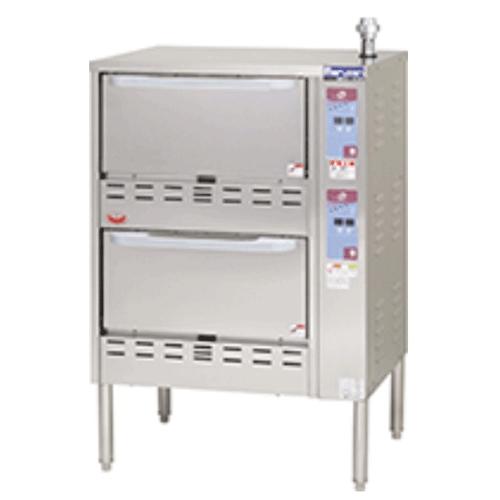 【業務用/新品】【マルゼン】 ガス立体自動炊飯器 MRC-S2D 幅750×奥行700×高さ1100mm /テンポス 【送料無料】