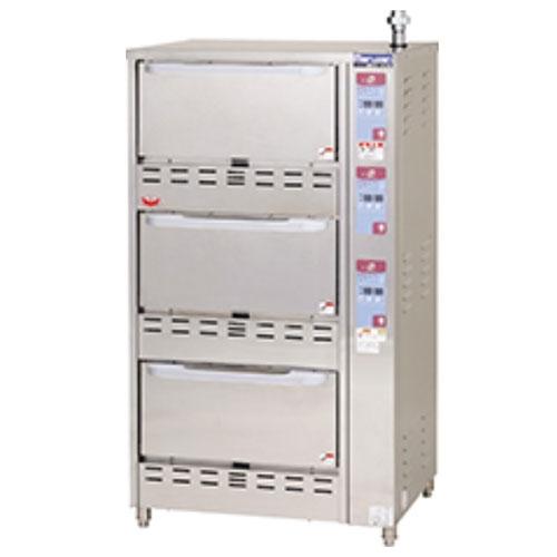 【業務用/新品】【マルゼン】 ガス立体自動炊飯器 MRC-T3D 幅750×奥行700×高さ1350mm /テンポス 【送料無料】