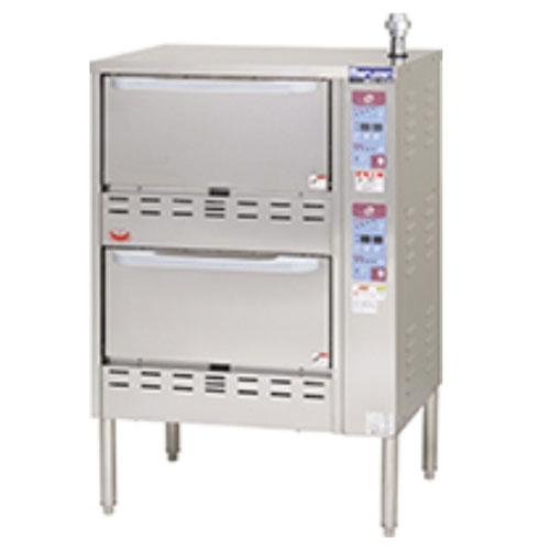 【業務用/新品】【マルゼン】 ガス立体自動炊飯器 MRC-X2D 幅750×奥行700×高さ1100mm /テンポス 【送料無料】