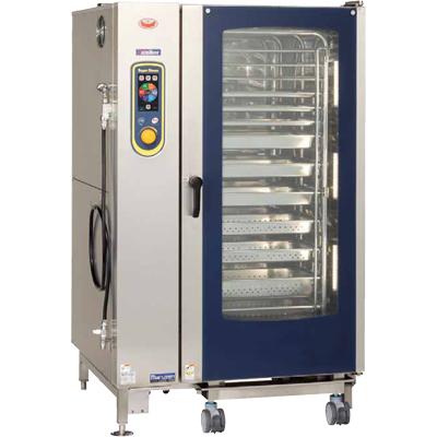 マルゼン スチームコンベクションオーブン スーパースチーム エクセレントシリーズ 電気式/SSCX-40D/W1100×D1015×H1790(mm)/送料無料/業務用/新品 /テンポス