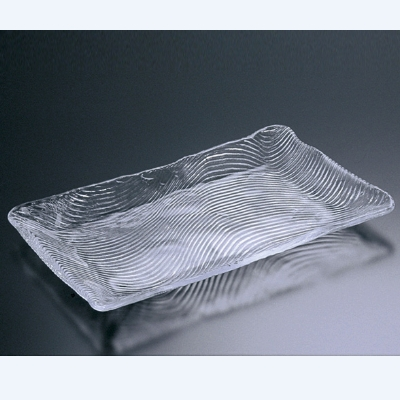 盛皿 活きづくり盛皿(小) 東洋佐々木ガラス(TOYOSASAKI GLASS) 40067/(業務用)(グループP)(プロ用)