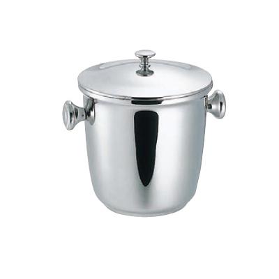アイスペール蓋付 18-8 SW 6L 【業務用】【送料無料】【プロ用】 /テンポス:厨房器具と店舗用品のTENPOS