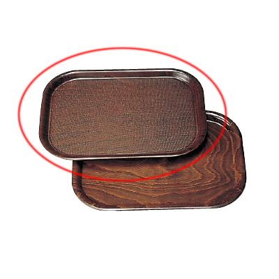 ウッドトレー 長角型 ノンスリップ PH556046/業務用/新品 /テンポス