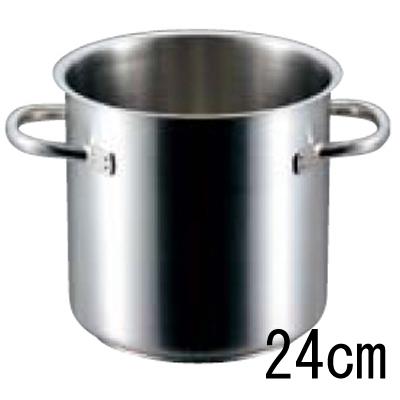 パデルノ 寸胴鍋 1001 (蓋無) 24cm 【業務用】【送料無料】【プロ用】 /テンポス