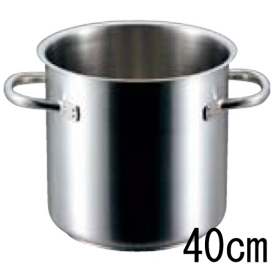パデルノ 寸胴鍋 1001 (蓋無) 40cm 【業務用】【送料無料】【プロ用】