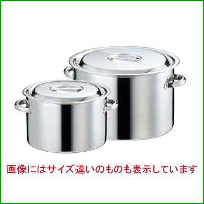 EBM 18-8 半寸胴鍋 (目盛付) 45cm 【業務用】【送料無料】【プロ用】