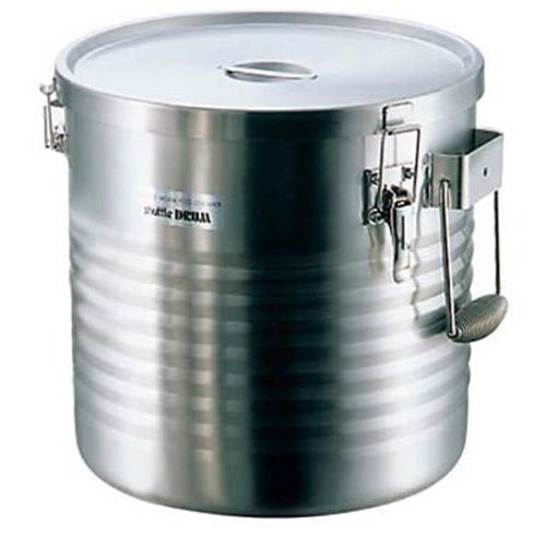 保温食缶 シャトルドラム 18-8 (高性能タイプ) JIK-W18 【業務用】【送料無料】