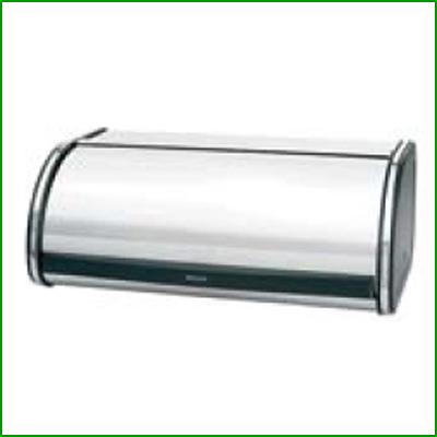 ブラバンシア ロールトップ ブレッドビン クローム/業務用/新品/小物送料対象商品