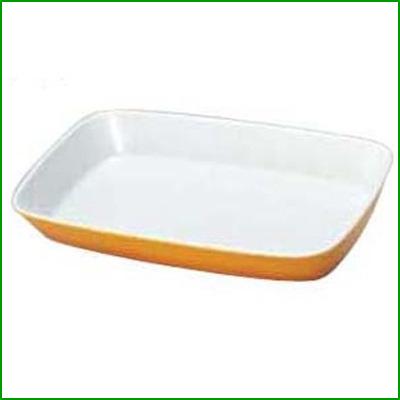 角型 グラタン皿 9148444 茶 【業務用】【送料無料】【プロ用】