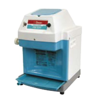 業務用 かき氷機 スワン 電動式 アイスシェーバー FM-500 ブルー【新品】【送料無料】 幅288×奥行320×高さ435