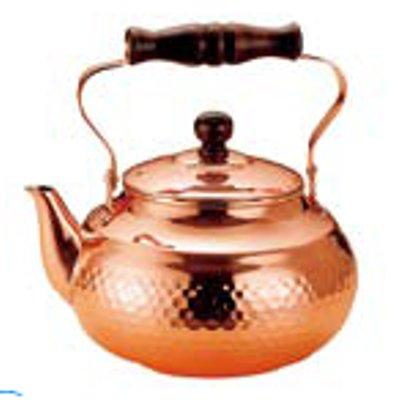 銅 槌目入 湯沸かし SC-2007 2L/業務用/新品/小物送料対象商品