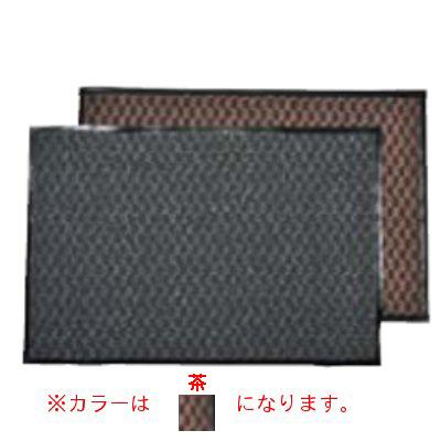 3M エンハンスマット500 1.200×1.800mm 茶 【業務用】【送料無料】【プロ用】 /テンポス