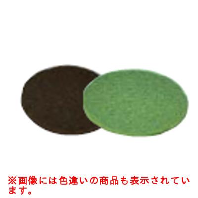 ポリッシャー用 フロアパッド シックライン(5枚入) 黒 剥離用 CP-12K用 【業務用】【送料無料】 /テンポス
