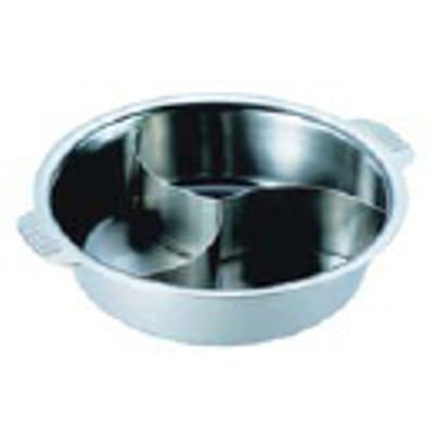 SW 電磁ちり鍋 3仕切 29cm【業務用】【送料無料】【プロ用】 /テンポス