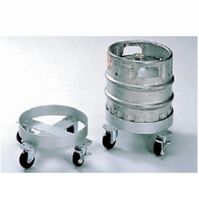 台車 生樽用 アルミ製 【業務用】【送料無料】【プロ用】 /テンポス