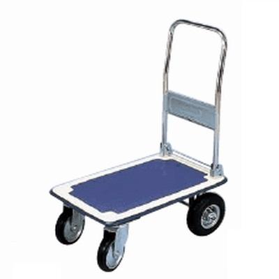 台車 ニュートラッカー (空気入車輪) (ハンドル折りたたみ式) NT-490 【業務用】【送料無料】【プロ用】 /テンポス