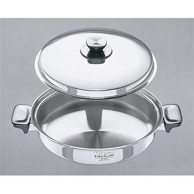 ビタクラフト(VitaCraft)両手鍋 No.9522 3.0L 浅型 ウルトラ ビタクラフト 【業務用】【送料無料】【プロ用】
