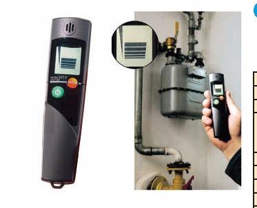 ガス漏れ検知器 testo 317-2 【業務用】【送料無料】【プロ用】