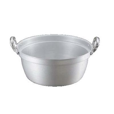 料理鍋(目盛付) 打出 キング アルマイト 45cm 【業務用】【送料無料】【プロ用】 /テンポス