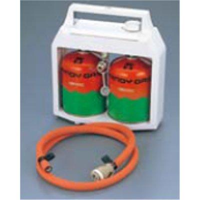 EBM ガス供給機 パワーエース (ボンベ2本付) 【業務用】【送料無料】 /テンポス