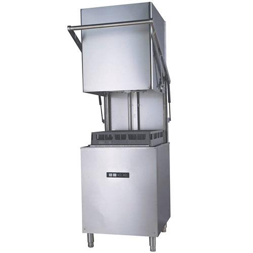 【業務用/新品】 食器洗浄機 TBDW-500U3 小型ドアタイプ 3相200V 幅630×奥行615×高さ1400 【送料無料】 /テンポス