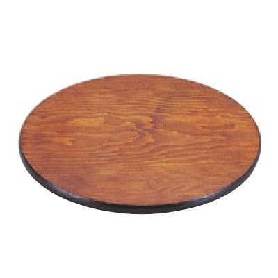 丸盆 丸板拭漆 高さ15mm×直径:322/業務用/新品 /テンポス