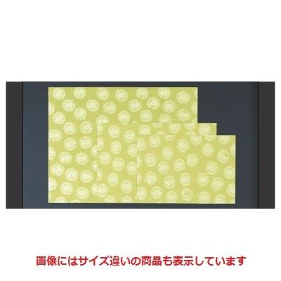 敷紙 菊花紙グリーン(100枚単位)(大) 幅500 奥行390/業務用/新品 /テンポス