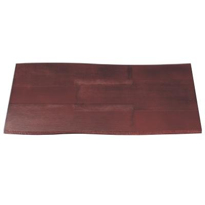 お盆 尺4寸流木敷膳布張根来 幅425 奥行297 高さ8/業務用/新品 /テンポス