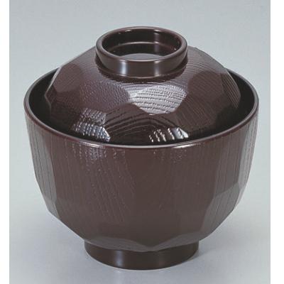 小吸椀 ニュー3.2寸亀甲小吸椀溜 漆器 高さ68 直径:97/業務用/新品/小物送料対象商品