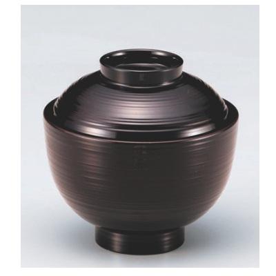小吸椀 3.1寸小丸刷毛目椀溜 漆器 高さ65 直径:94/業務用/新品/小物送料対象商品