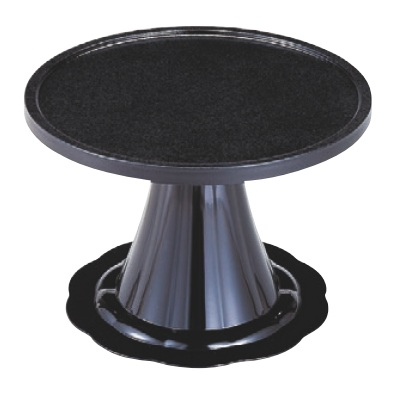 御膳 満月膳 黒石目 尺6寸 強化塗 高さ306 直径:480/業務用/新品 /テンポス