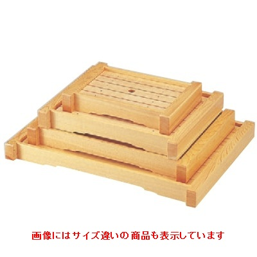 盛器 白木伊勢盛器(特大) 幅540 奥行390 高さ50/業務用/新品 /テンポス